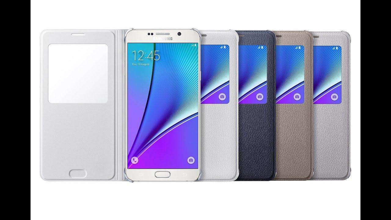 the best attitude 49049 18a2f Samsung Galaxy Note 5 S-View Flip Case