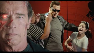 Arnold Schwarzenegger Terminator Prank. Русская озвучка. Пранк: Шварценеггер — Терминатор