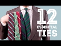 12 Ties Every Man Should Invest In - Essential & Best Men's Neckties