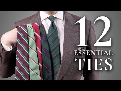 12 Essential Ties Every Man Should Invest In — Gentleman's