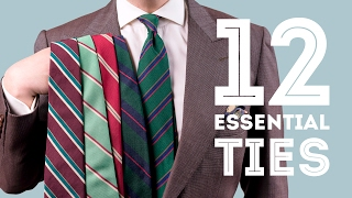 12 Ties Every Man Should Invest In - Essential & Best Men