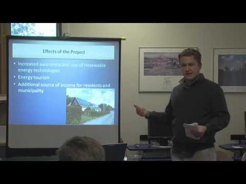 University of Wyoming International Studies Fieldwork: Building Sustainable Energy Development in