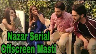 Nazar Serial Offscreen Masti  Harsh Rajput  Niyati Fatnani