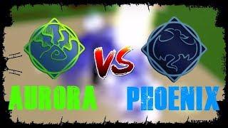 Aurora vs Phoenix | Roblox Elementare Schlachtfelder