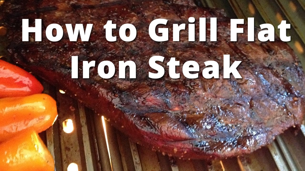 how to grill flat iron steak grilling flat iron steak youtube. Black Bedroom Furniture Sets. Home Design Ideas