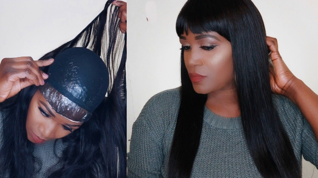 20 MINUTE REMOVABLE QUICK WEAVE WITH BANGS