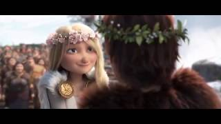 HTTYD 3 - Oฑce There Were Dragons - Scene with Score Only
