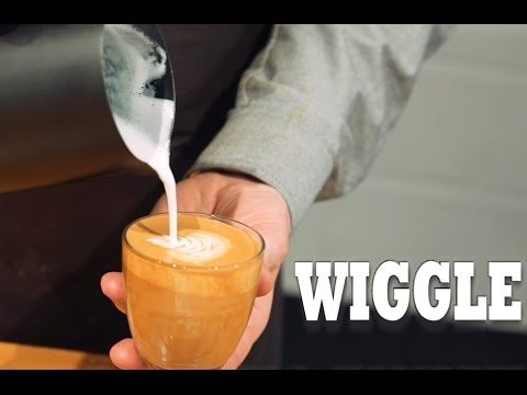 how to make a flat white with a coffee machine