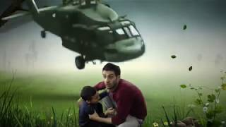 Green Screen and Chroma Key - Helicopter Crash