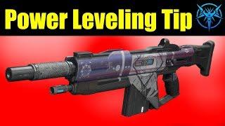 Destiny 2 Easy Power Leveling Tip - Horror Story Auto Rifle