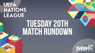 Nations League Betting and Match Predictions | Team Bankroll | Tuesday 20th November Matches