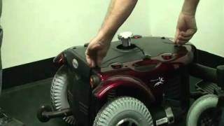 Merits Health Products - P313 Cypress Powerchair Product Demo