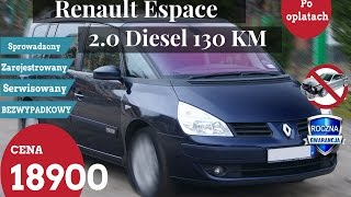 renault espace 2007 2 0 dci 130 km