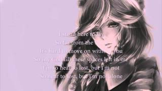 Nightcore - Afterglow lyrics [HD]