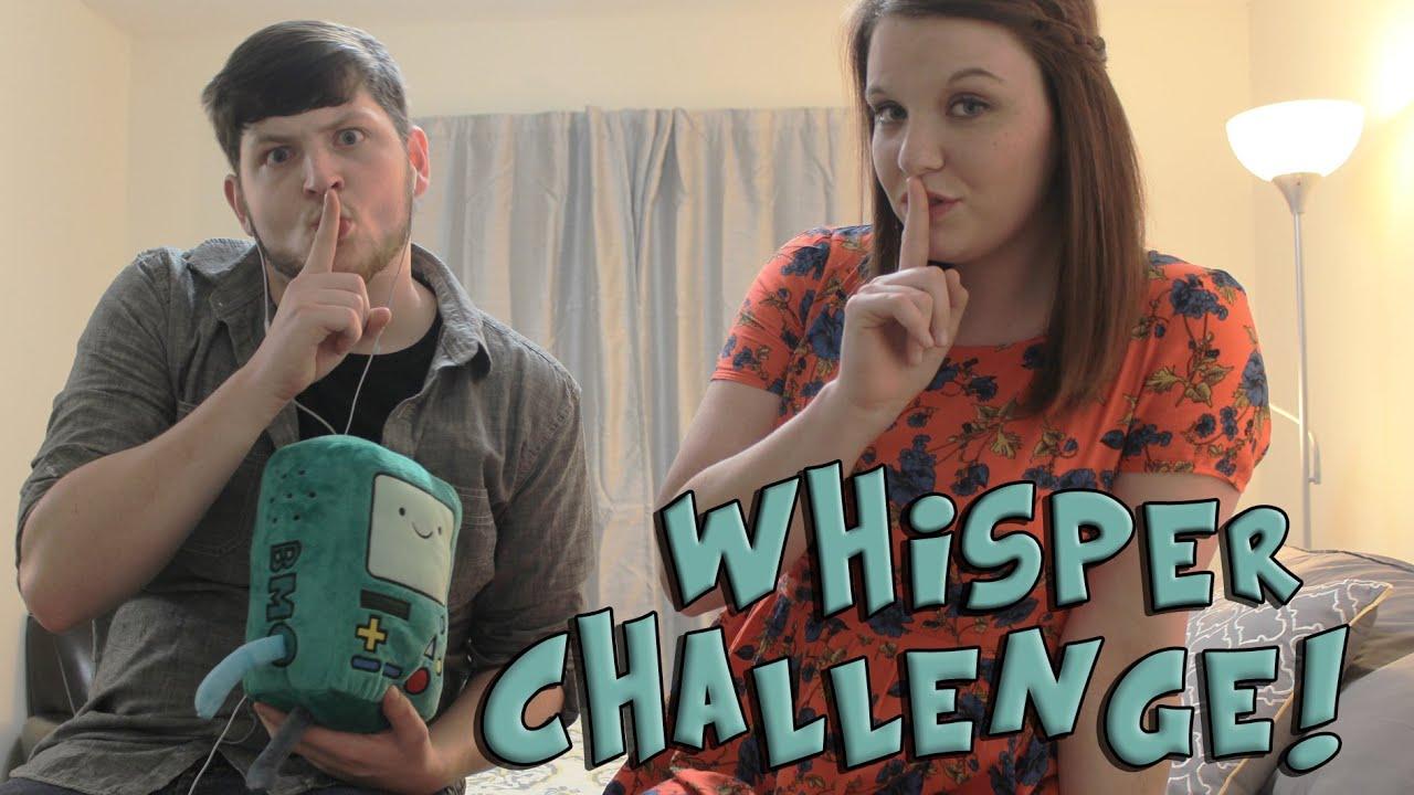 The Whisper Challenge with Brie Larson - YouTube | Telas  |Whisper Challenge Ideas