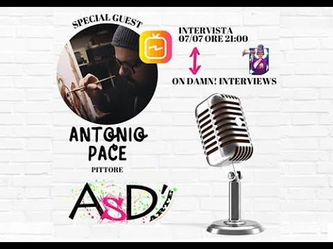 Altro Spazio D'arte e Damn Interviews - Antonio Pace - 07-07-2021