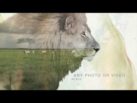 Double Exposure Generator After Effects Project