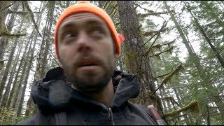 Trying not to get SHOT while MUSHROOM HUNTING in Oregon