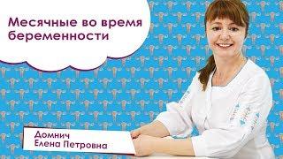 Месячные во время беременности. Домнич Елена Николаевна. Adonis