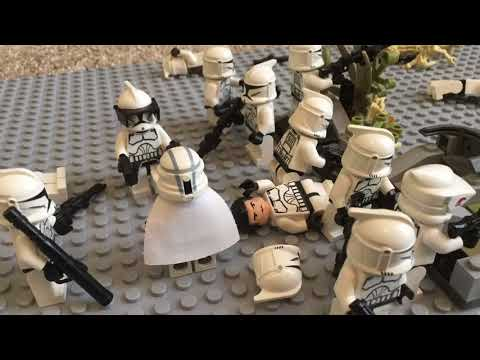 Commander Keller Takes Charge- Lego Star Wars Stop Motion