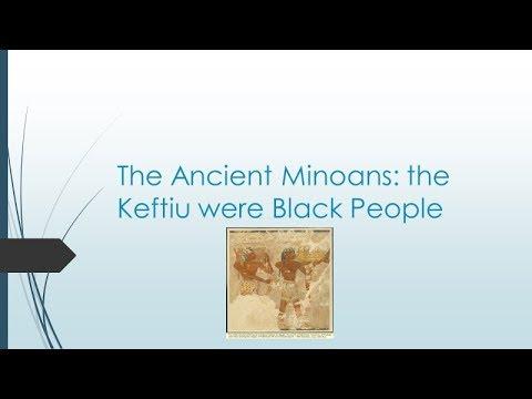 Ancient Minoan DNA Prove Ancient Minoans were  Blacks