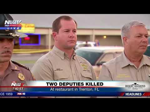 TWO DEPUTIES KILLED: In apparent ambush at Trenton, FL restaurant (FNN)