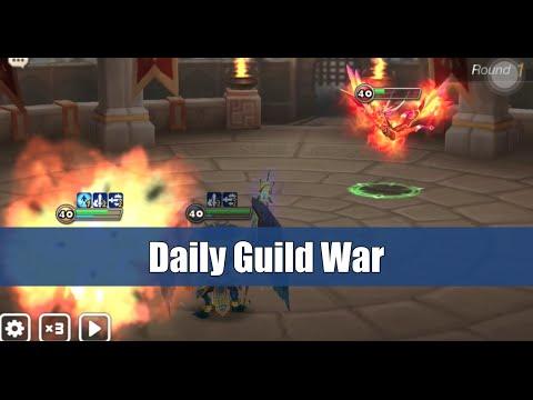 SeanB Summoners War - Daily Guild War 1 - Katarina, Copper, Rakan