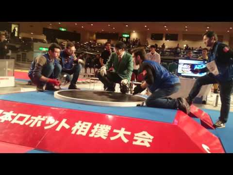 sakin international robot sumo 2015 quarter final