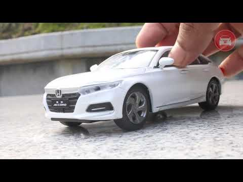 Unboxing HONDA ACCORD 10TH SEDAN WHITE Die cast model car | SCALE 1:32