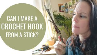 A little random video today. I thought I would try and whittle a crochet hook from a fallen branch off my Rowan tree in the garden. It's worth pointing out that I have ...