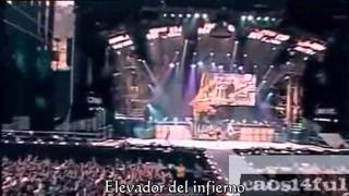 AC/DC Hard As A Rock Subtitulos En Español , live in Munich, Germany 2001 HD