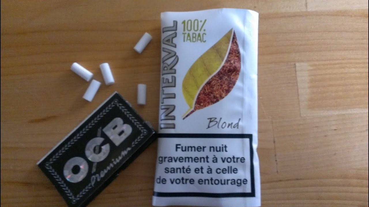Test 1 Interval 100 Tabac A Rouler Youtube
