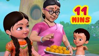 Nanamma Nanamma - నువ్వంటే నాకు చాలా ఇష్టం | Telugu Rhymes for Children | Infobells