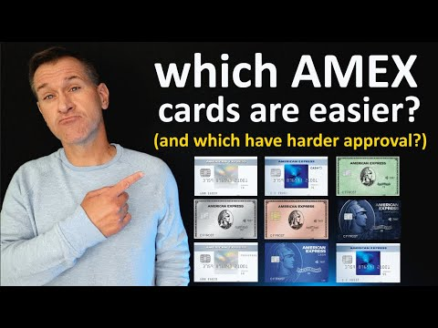 Download Which American Express Credit Card has easiest approval (and hardest)? *Amex cards easy to difficult