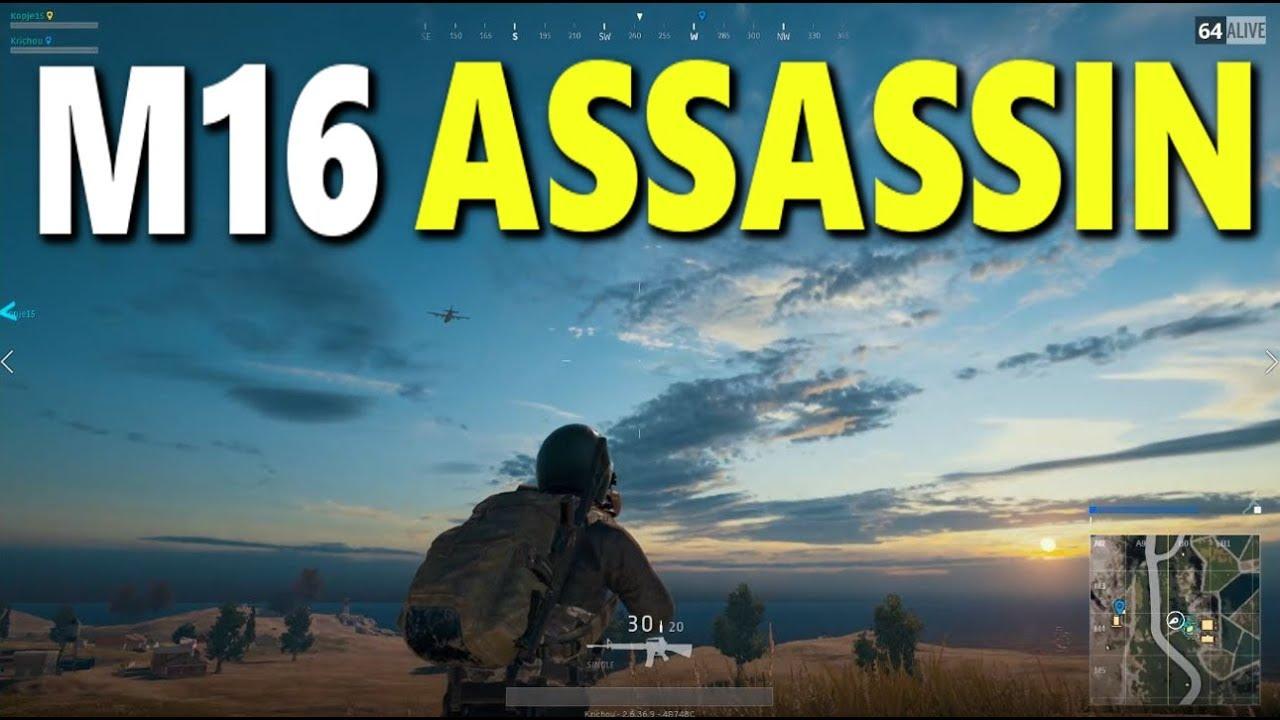 M16 Assassin (suppressed 8x)