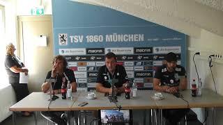 Uerdingerblock 1860 München - KFC Uerdingen Pressekonferenz