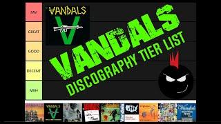 THE VANDALS ALBUMS RANKED #DISCOGRAPHY #TIERLIST #PUNKALBUMS #ALBUMSRANKED #THEVANDALS #POPPUNKRADIO