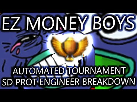 DAILY AT WIN! SD PROT ENGINEER GAMEPLAY [4 GAMES]