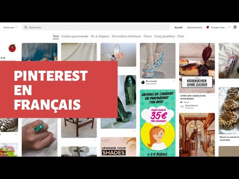 Avoir Pinterest En Francais Youtube