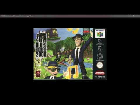 Blues Brothers 2000 N64 Music Sewers