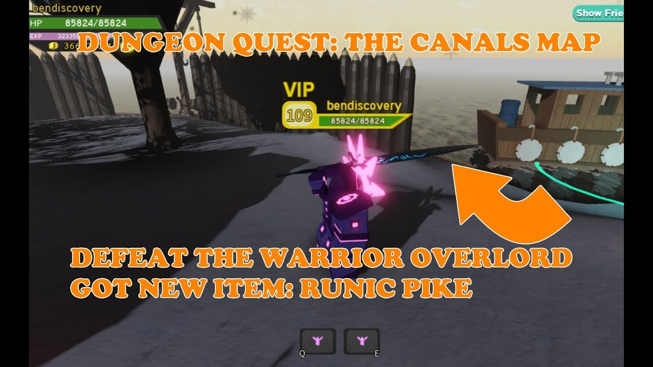 Defeating The Canals Boss Warrior Overlord And Got New Runic Pike