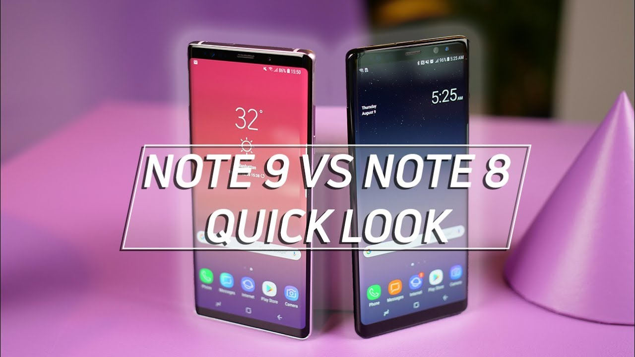 335499a579 Samsung Galaxy Note 9 vs Galaxy Note 8  Worth The Upgrade  - YouTube