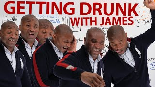 LEARN REAL ENGLISH: Get DRUNK with James