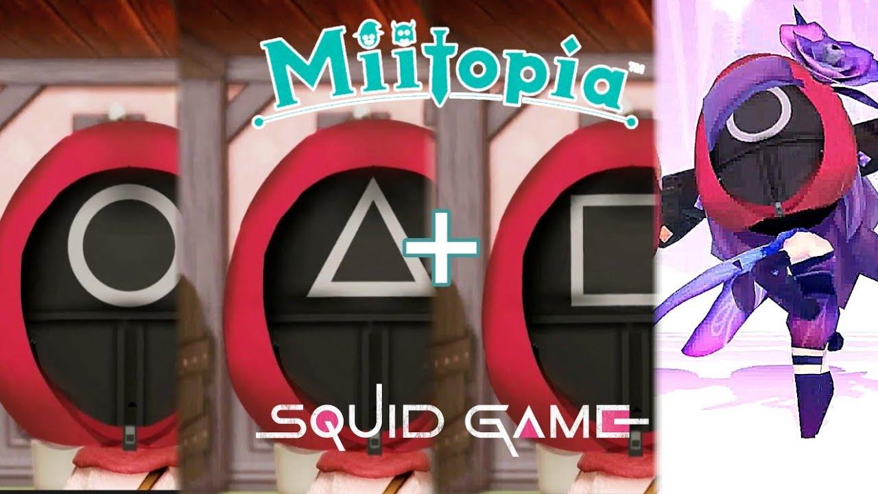 미토피아-오징어게임 ○△□ 진행요원들 커스텀 과정+춤[miitopia-squid game]