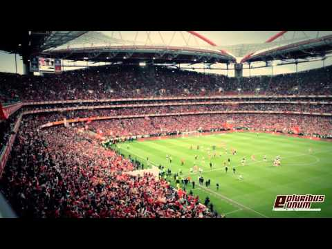 Explosão no estádio da Luz! Apito Final - Benfica - Olhanense 2013/2014 - Jogo do título!