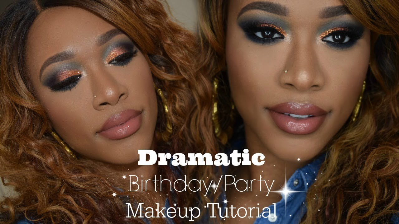 Dramatic Birthday Party Makeup Full