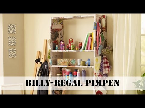 Ikea Billy Regal pimpen