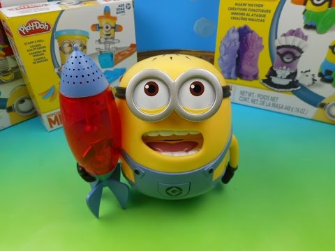 DESPICABLE ME STARLITE PALS SINGING MINION JERRY KIDS TOY VIDEO REVIEW