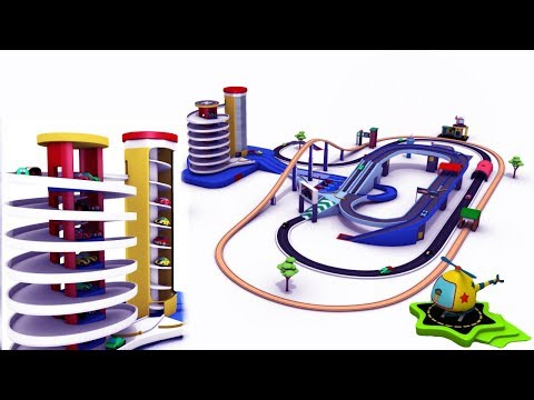 Choo Choo Train - Trains for children - Police cartoon - Train - Toy Factory