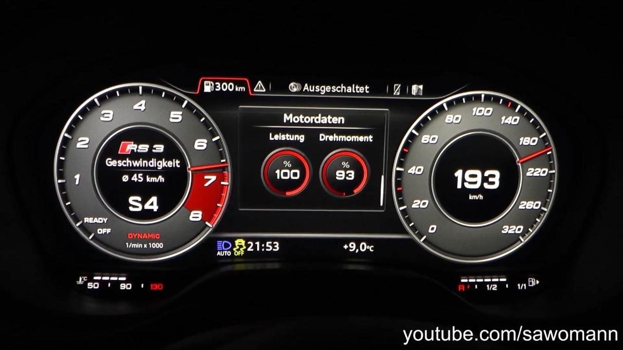 2017 audi rs 3 limousine 400 hp 0 100 km h 0 100 mph 0 200 km h rh youtube com